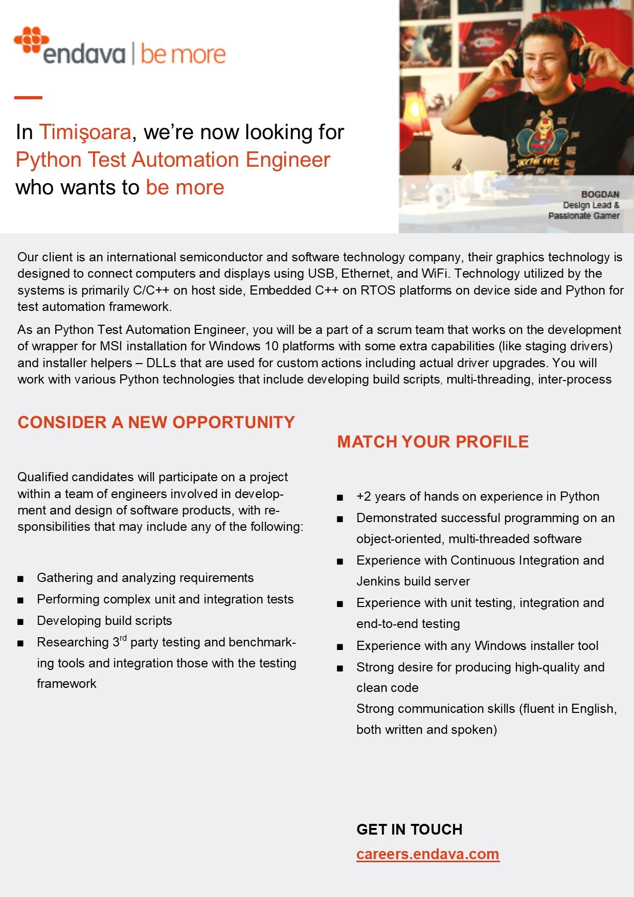 Python Test Automation Engineer