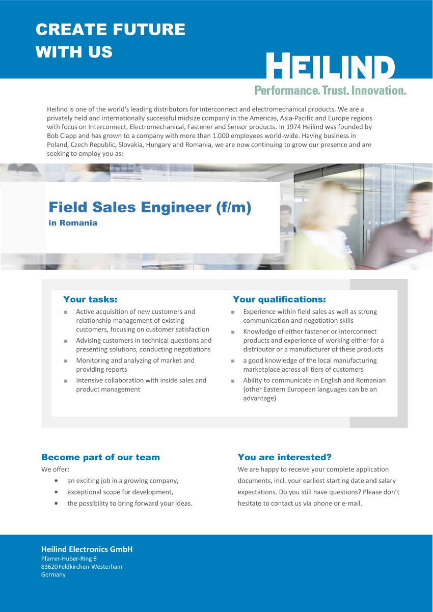 Stellenanzeige Field Sales Engineer_Engl_20180528_RO