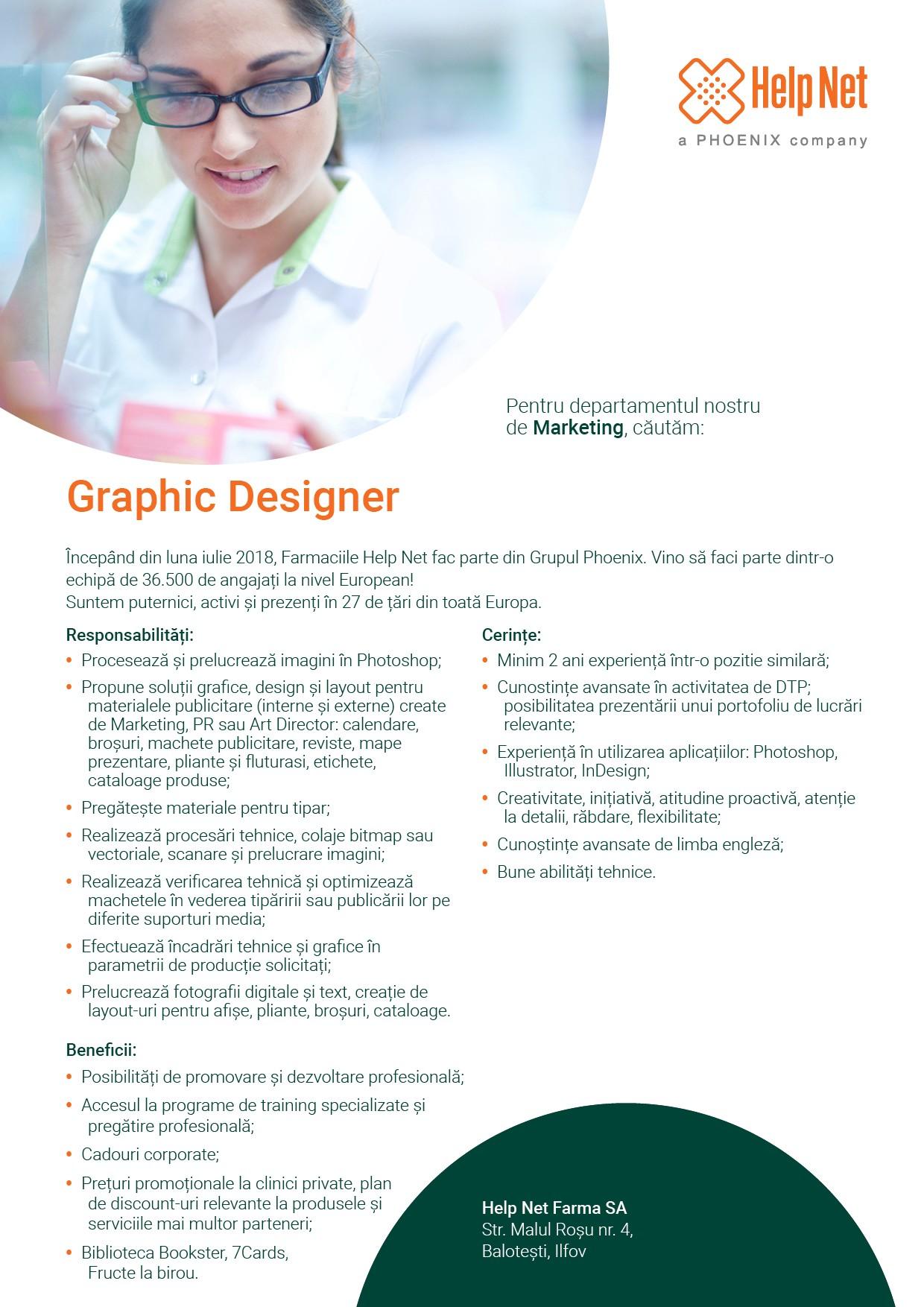 Job Description Graphic Designer