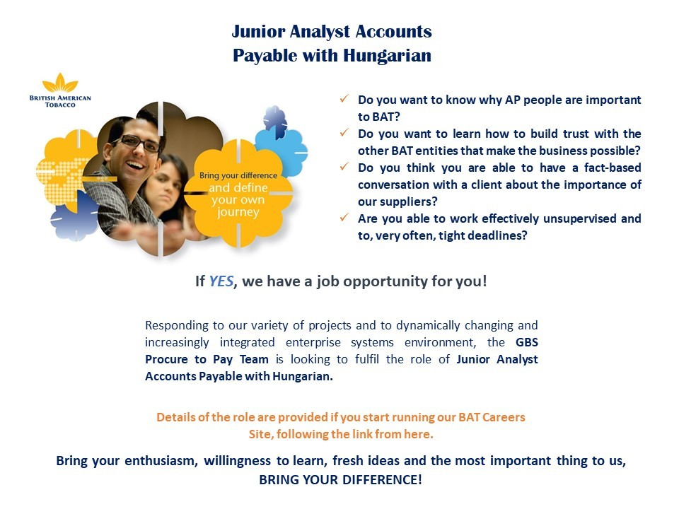 Junior Analyst AP with Hungarian