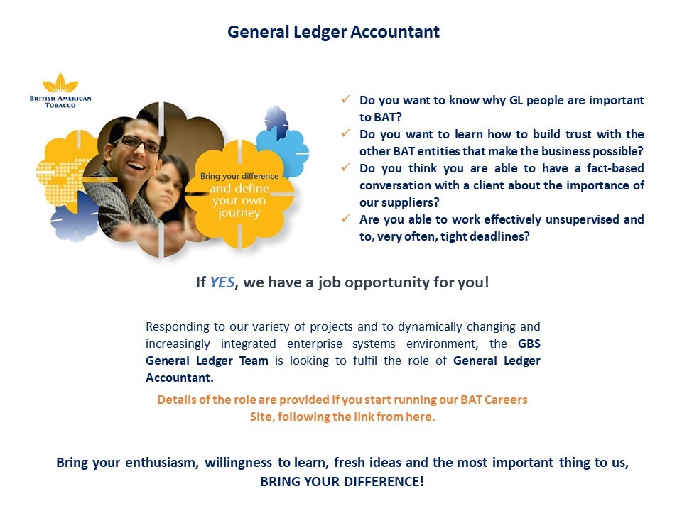 General Ledger with English