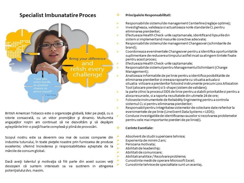 Specialist Imbunatatire Proces