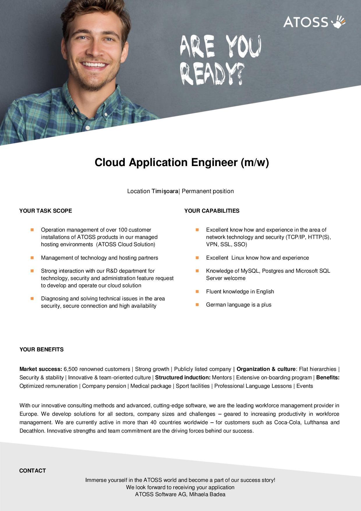 Cloud Application Engineer