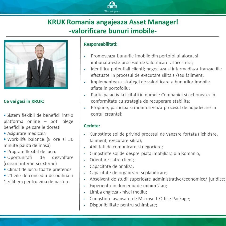 anunt asset manager - extern