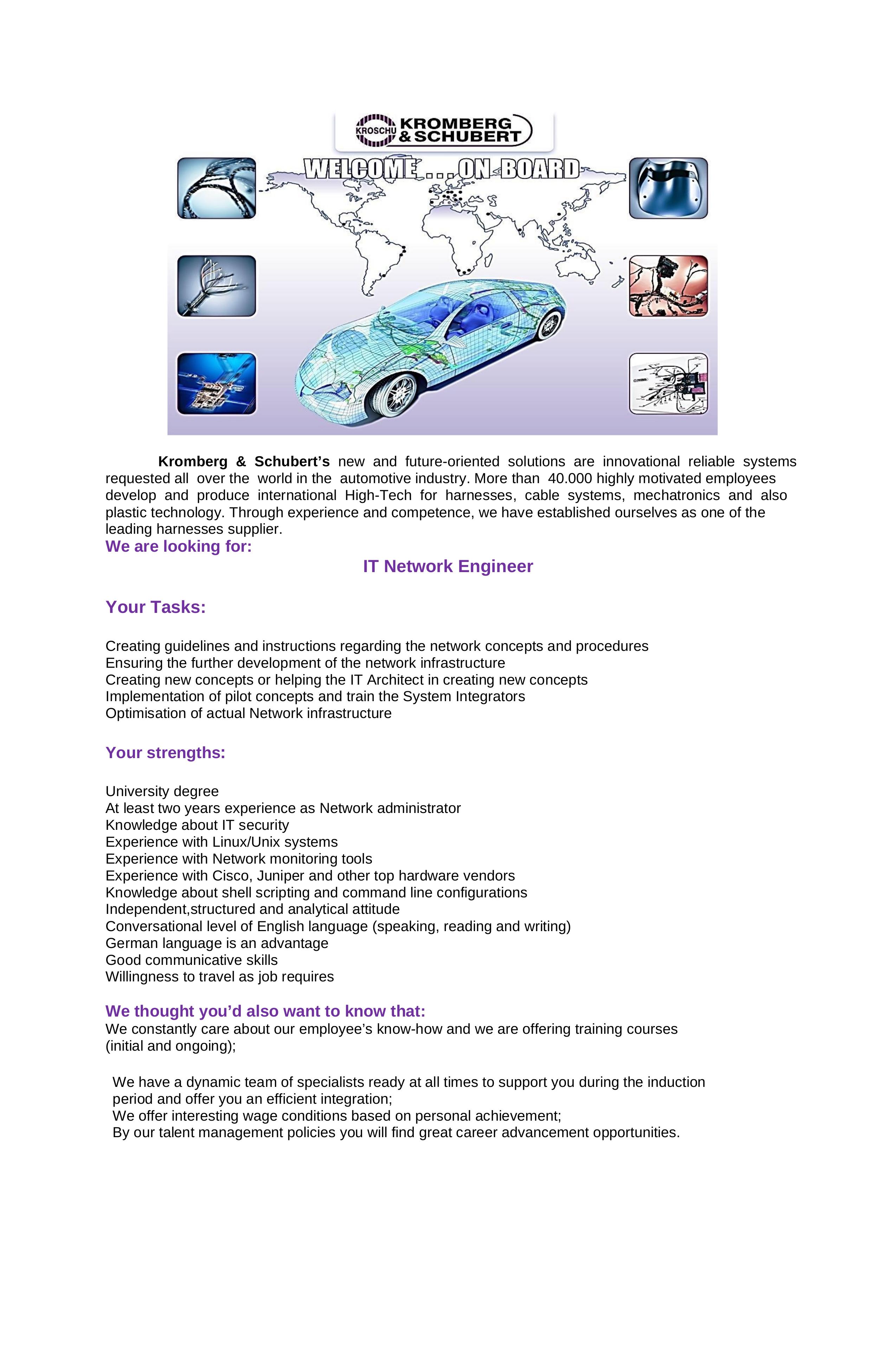 IT Network Engineer1234