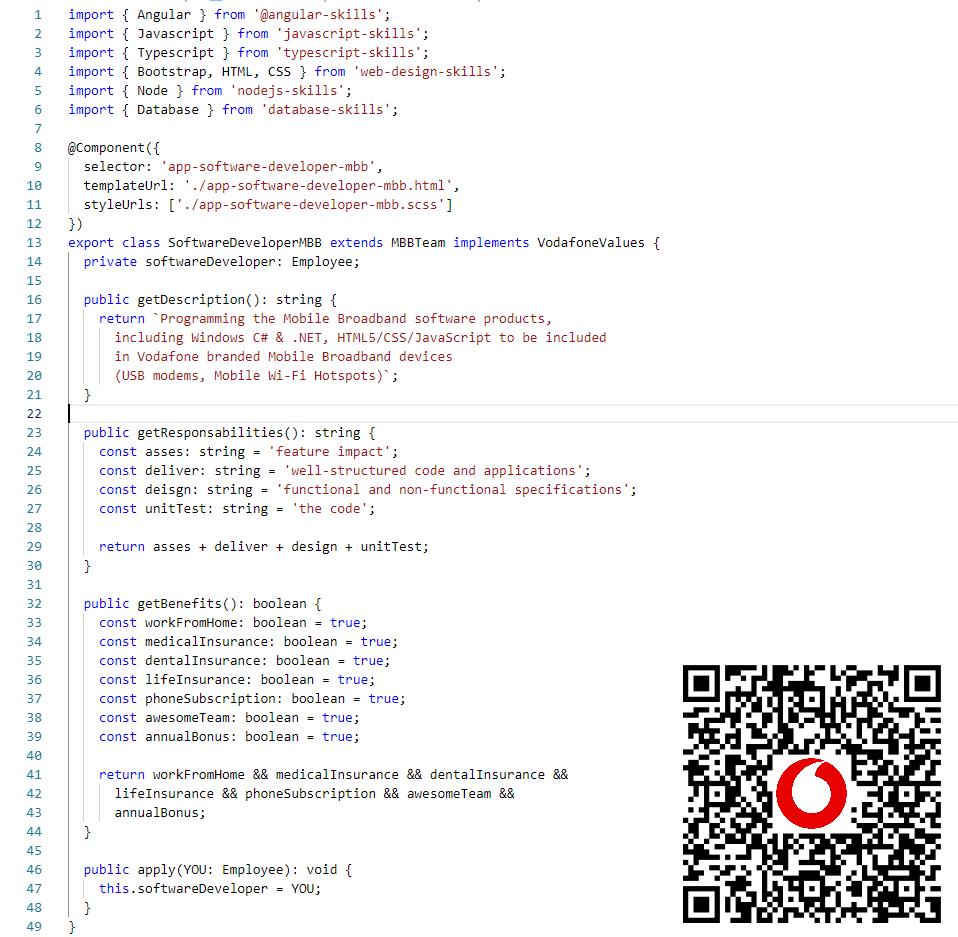 Software Developer MBB