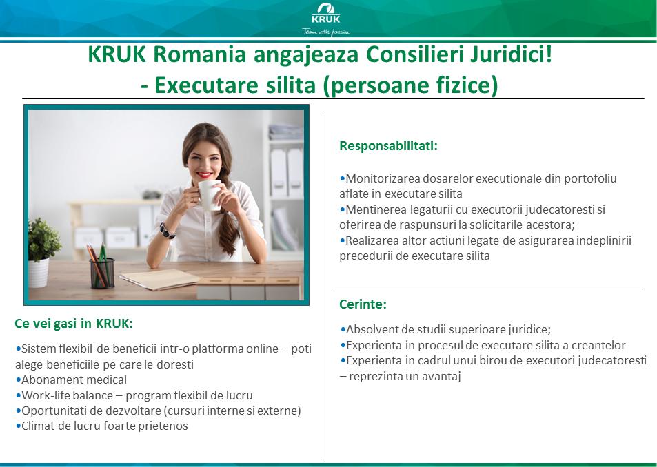 Legal Advisor - executare silita