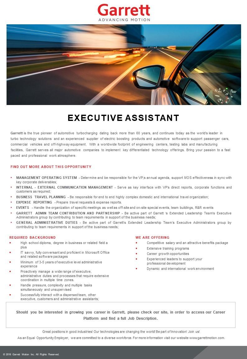 Executive Assistant