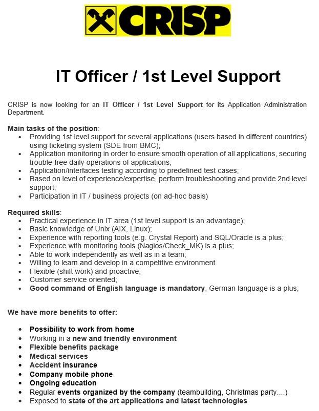 IT Officer-1st level_2019