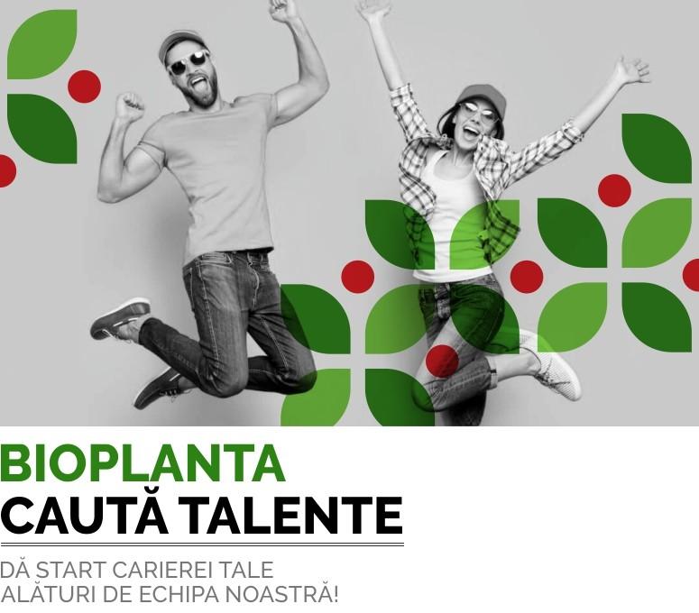 Recrutare juniori BioPlanta