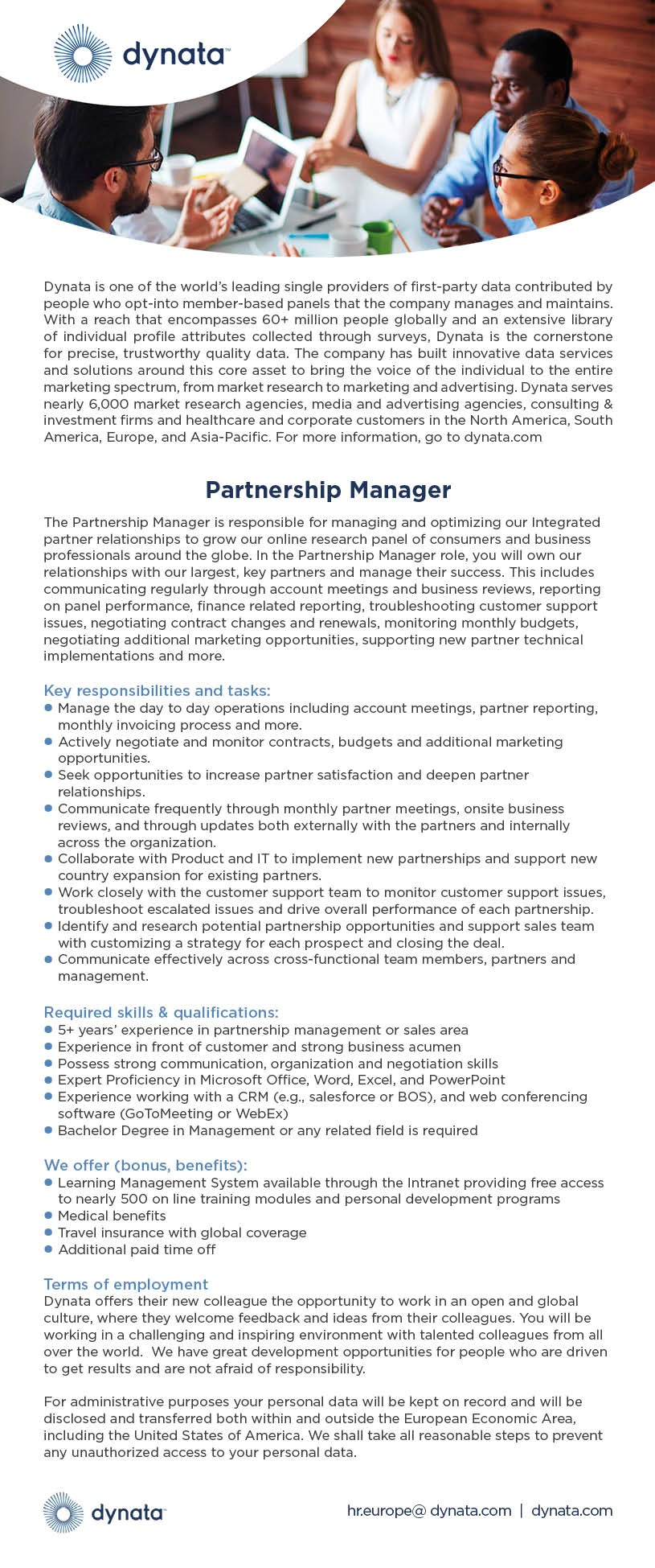 Partnership-Manager