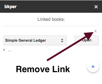 Remove Link