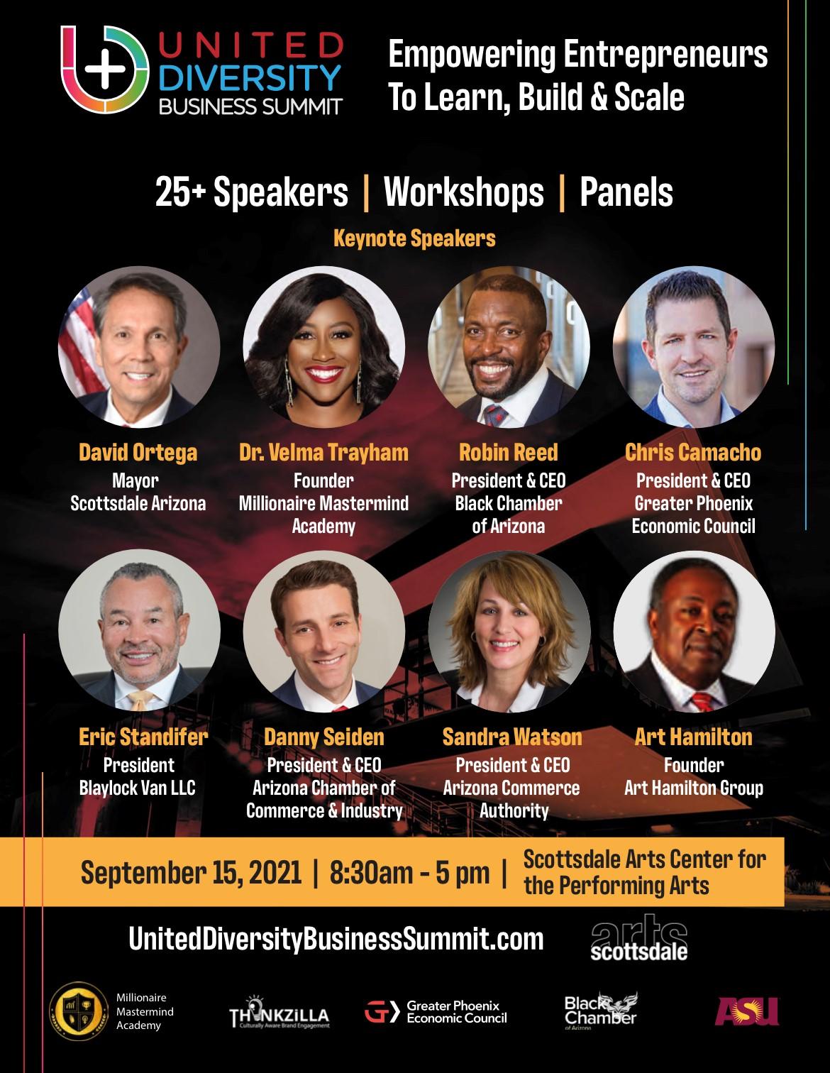 United Business Diversity Summit Sep 15