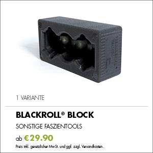 Kaufempfehlung BLACKROLL® BLOCK