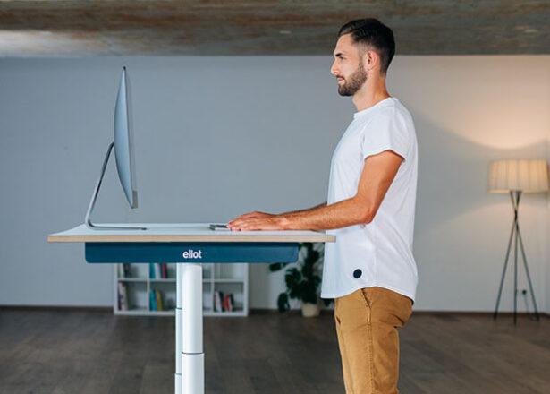 Ergonomischer Schreibtisch