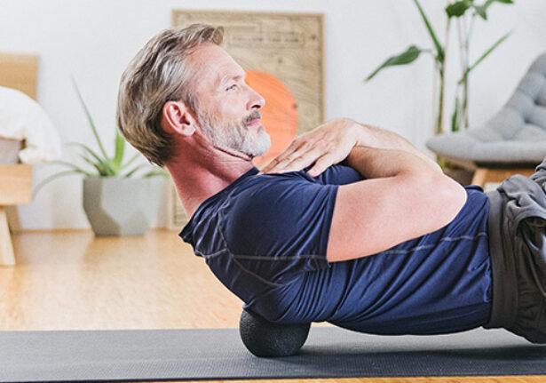 Schulterschmerzen massage