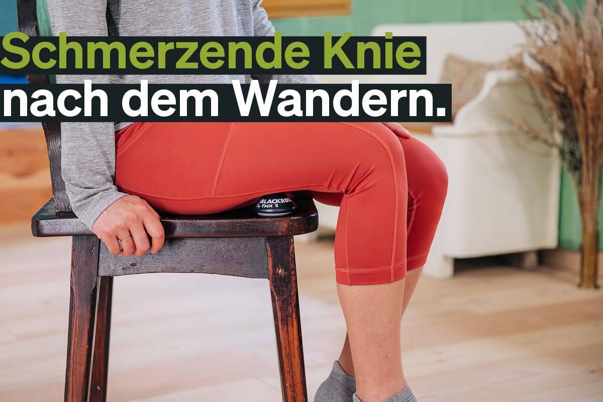 Knieschmerzen nach dem Wandern