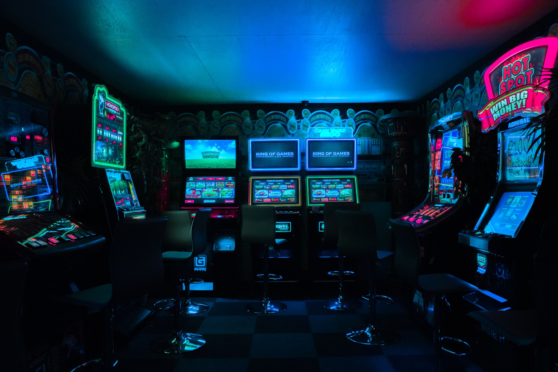 Video Game Arcade Image