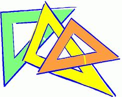 Figury płaskie - trójkąty