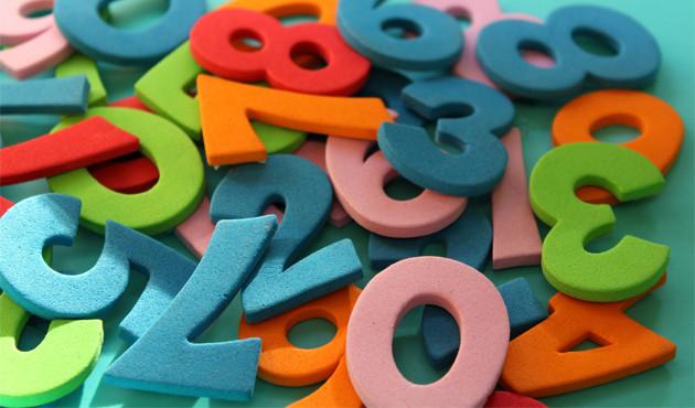 Números negativos, números positivos