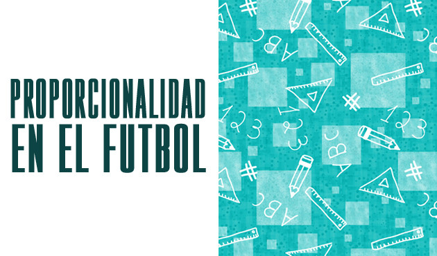 Proporcionalidad en el Futbol