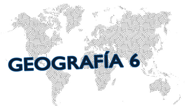 Geografia para sexto grado de primaria