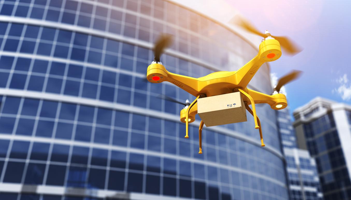 Rozwój e-commerce – przesyłki dostarczane dronem?