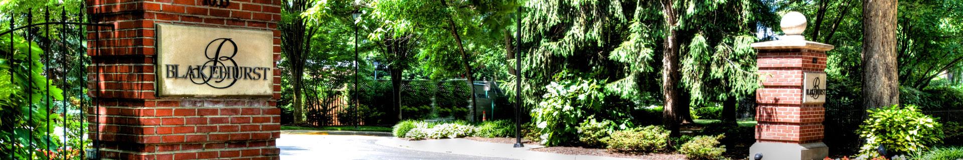 blakehurst entrance