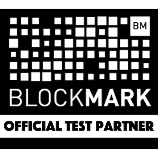 BlockMark Technologies Test Partner certificate mark