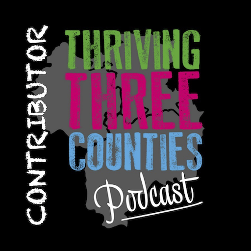 Thriving Three Counties Podcast Contributor certificate mark