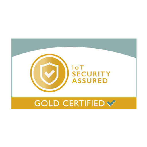 IoT Security Assured - Gold certificate mark