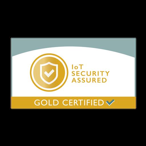 IoT Security Assured - Gold certificate mark