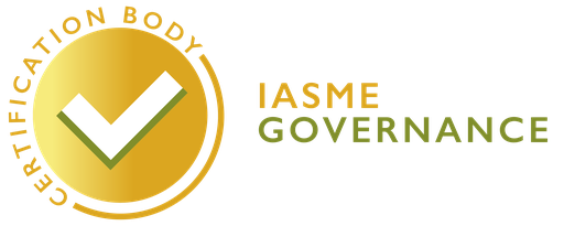 IASME Governance Certification Body certificate mark