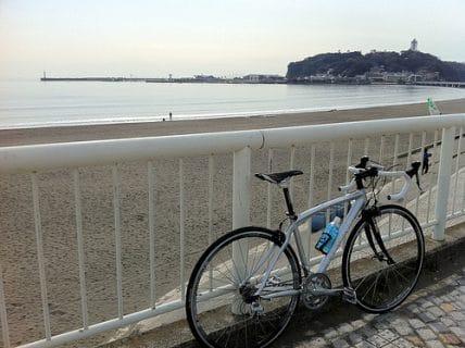ロードバイクで江ノ島へGO!!