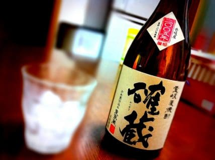 壱岐麦焼酎 確蔵 かめ壷仕込み 2005年謹製