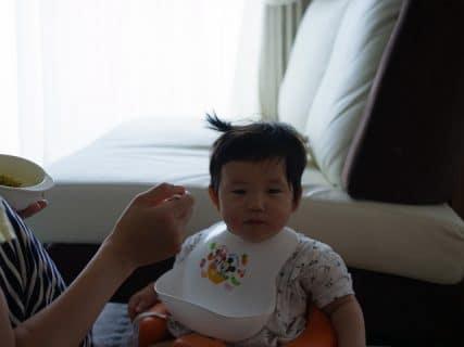 髪の寝癖息子