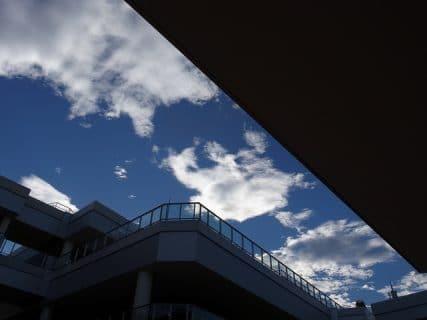 ある日の青空