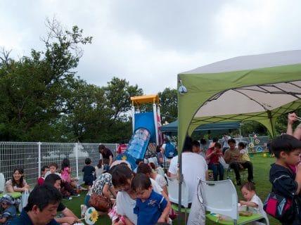 保育園の夕涼み会&町内夏祭り2013