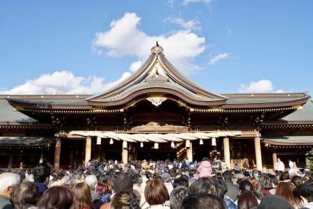 今年も寒川神社に初詣に行ってきました(2018)