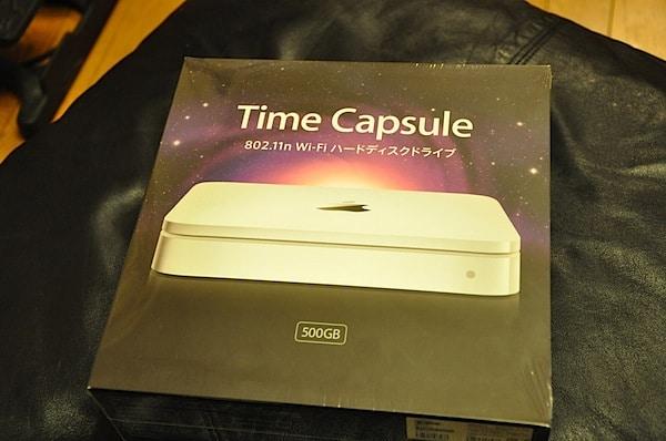 TimeCapsuleって便利だなぁ〜。