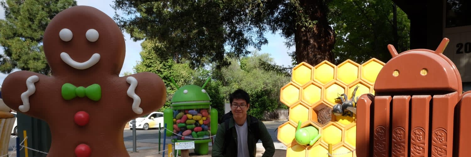 My photo taken in Googleplex