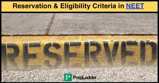 NEET-UG 2016 - Eligibility & Reservation