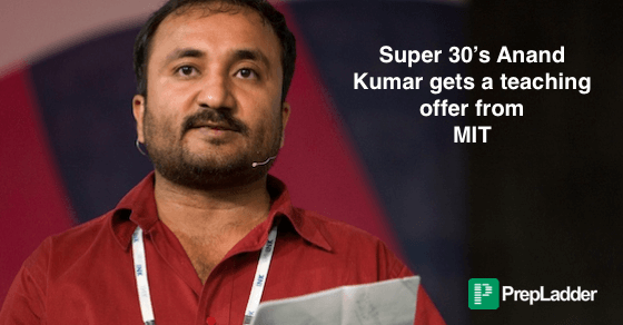 Super 30 founder Anand Kumar gets Teaching Proposal from MIT