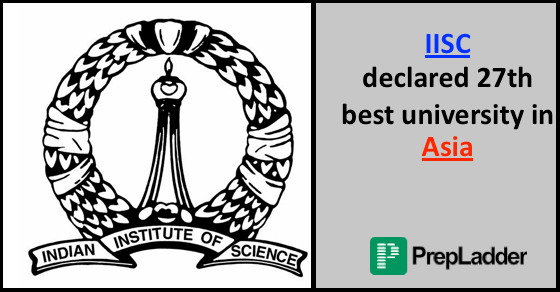 Asia University Rankings 2016 | IISC at 27th Position
