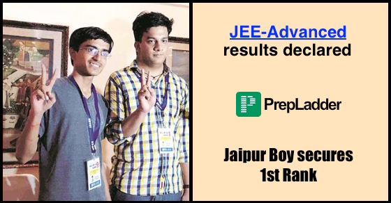 JEE-Advanced results declared | Jaipur Boy bags Rank 1