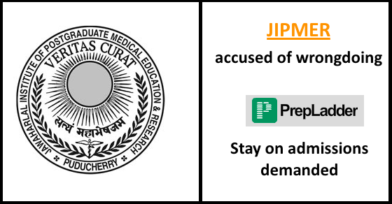 JIPMER accused of wrongdoing | Stay on admissions demanded