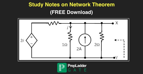 Pdf Download Notes On Network Theorems For Gate Prepladder