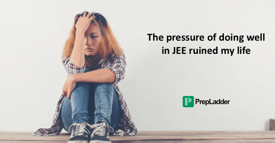 A student's pain at not clearing JEE Main