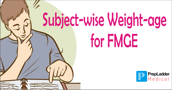 Subject-Wise Weight-age for FMGE