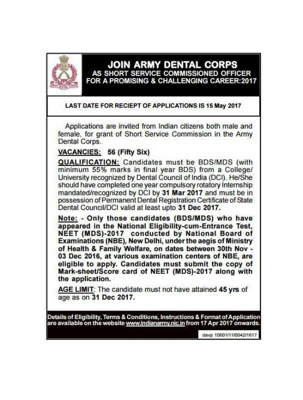 eligibility for army dental corps As a dentist in the army dental corps, you will work with other dedicated dentists,  consult specialists & participate in important dental research.